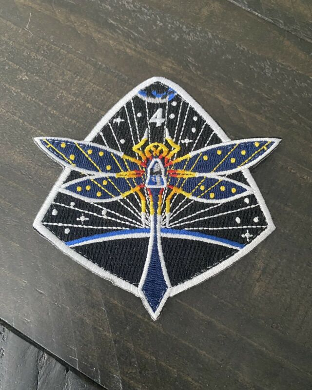 Official NASA CREW-4 Patch / SpaceX Dragon