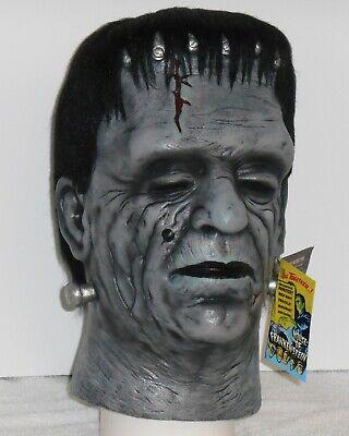 Customized Trick Or Treat Glenn Strange FRANKENSTEIN MASK Halloween Costume Prop