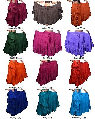 Orientalischer Bauchtanz 25 yard Baumwolle Röcke