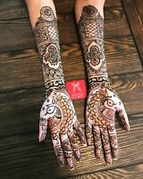 Professional Bridal Henna artist - BOOK NOW 2019