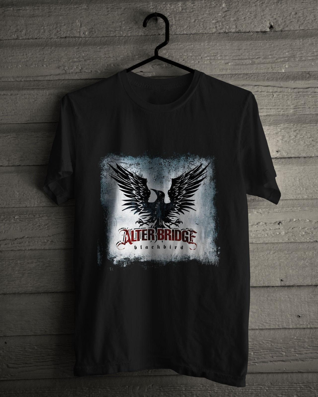 Black t shirt xl - Blackbird Rock Band Black Tee Shirt Size S M L Xl 2xl 3xl