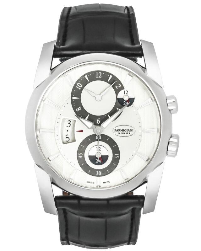 PARMIGIANI FLEURIER TONDA 18K WHITE GOLD AUTOMATIC MEN'S WATCH MSRP: $38,000 - watch picture 1