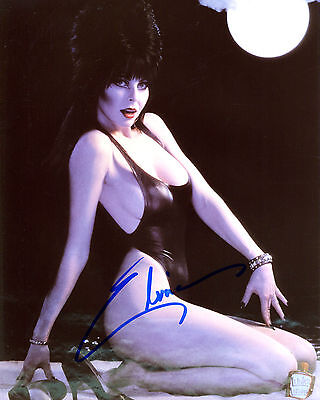 REPRINT - ELVIRA 2 Mistress of Dark Halloween autographed signed photo copy