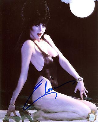 REPRINT - ELVIRA 2 Mistress of Dark Halloween autographed signed photo copy - Elvira Darks Halloween