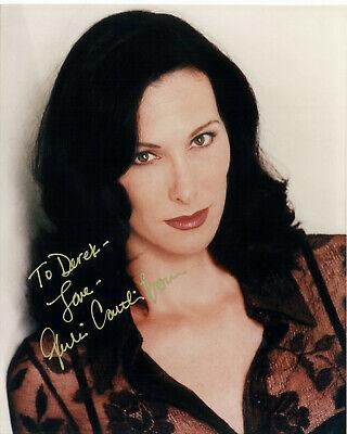"""Babylon 5 Julie Caitlin Brown """"Na'Toth"""" signed COA 10"""" by 8"""" (to Derek)"""
