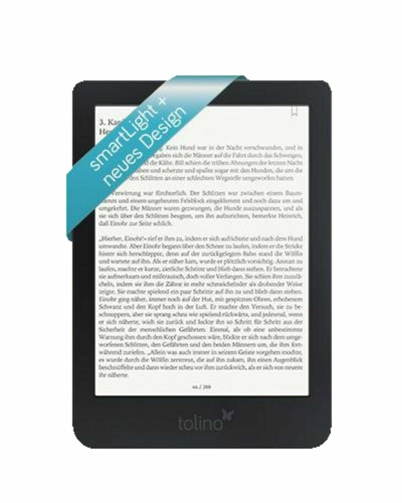 TOLINO shine 3   eBook Reader schwarz   *OVP*