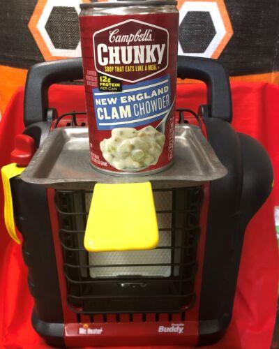 Mr Heater Buddy BIG BUDDY Propane Heater WARM Z IT UP COOKING WARMING TRAY PAN