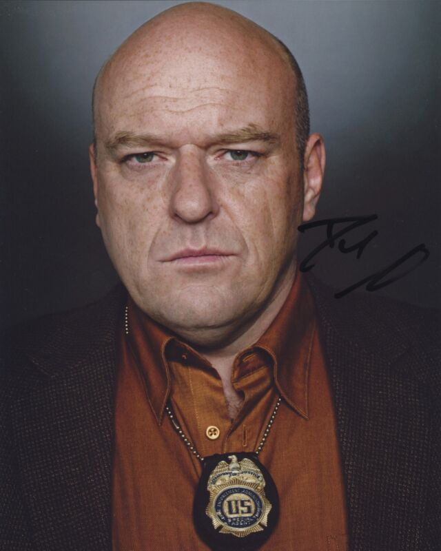 DEAN NORRIS SIGNED BREAKING BAD 8X10 PHOTO