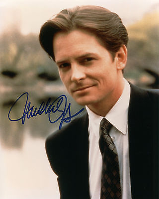 Michael J. Fox - Mike Flaherty - Spin City - Signed Autograph REPRINT