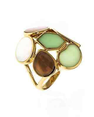 Ippolita Rock Candy 18k Yellow Gold Ring Size 7. GR294PISA
