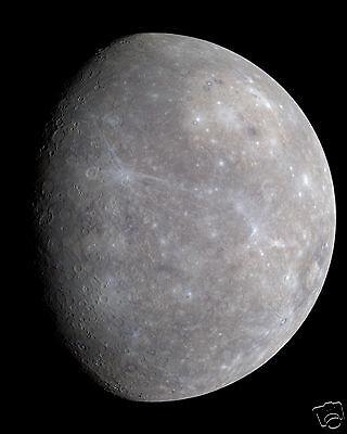 Planet Mercury Solar System Astronomy 8 x 10 Photo Photograph Picture