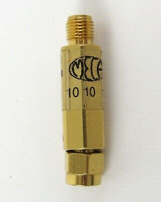 Meca 660-10-1f1 Attenuator Sma Male To Sma Female 10 Db