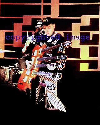 Cheap Trick Rick Nielsen  2/1/81 Granada Theatre Chicago Color 8x10 R