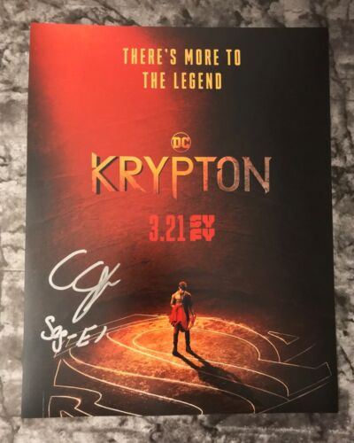GFA Krypton Seg-El * CAMERON CUFFE * Signed 11x14 Photo Poster MH3 COA