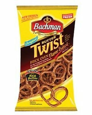 Bachman Butter Twist Pretzels 10 oz Bag (4 Bags)
