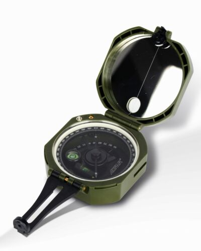 AOFAR Military Compass AF-M2-B multifunctional fluorescent waterproof shockproof