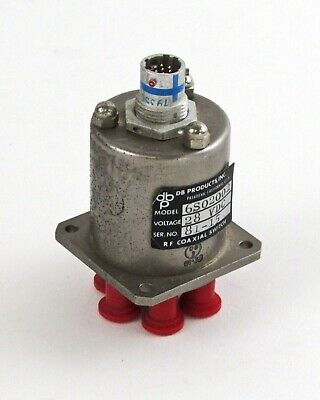 Db Products Inc. 6s02002 Rf Coaxial Switch 28vdc Sp6t Rtk07-8-7p