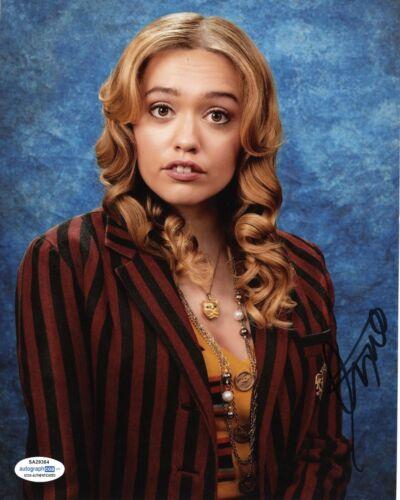 Aimee Lou Wood Sex Education Autographed Signed 8x10 Photo ACOA #6