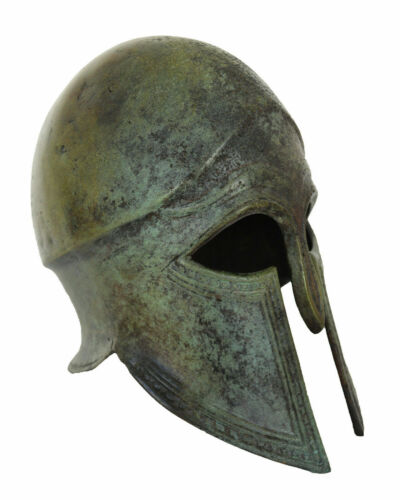 Corinthian small Bronze Helmet - Handmade in Greece - Spartans Athenians Hoplite