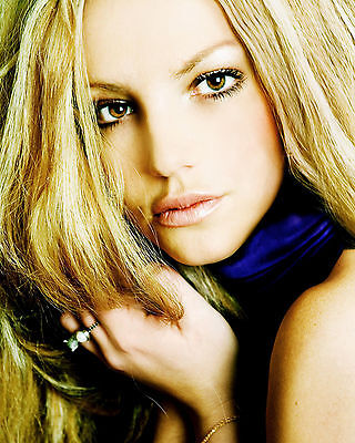 BRITNEY SPEARS 8X10 PHOTO PICTURE PIC HOT SEXY EYES CLOSE UP 5