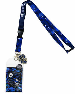 Harry Potter Ravenclaw Traits Lanyard Sticker ID Badge Holder Charm Official