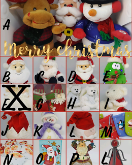 Christmas soft toys / singing & dancing toys / hats - variety