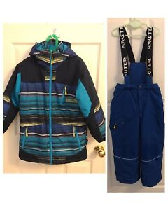 Boys Winter Ski Jacket and Snow Pants