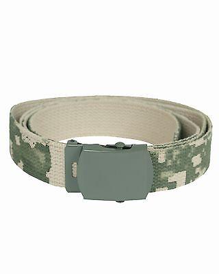 MIL-TEC Hosengürtel Cotton AT-digital  Army Military Gürtel Koppel Canvas Belt