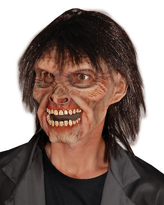 Mr. Living Dead Walking Zombie Adult Latex Mask Scary Theme Party - Adult Living Dead Kostüm