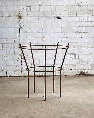 metal peony basket / garden / flower basket / plant support