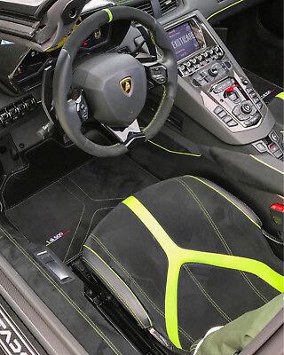 Lamborghini Aventador SV LP 750-4 Superveloce Alcantara Carbon Fiber Floor Mats
