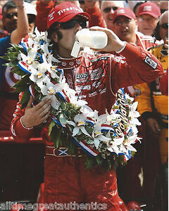 INDY-DRIVER-DARIO-FRANCHITTI-SIGNED-8X10-PHOTO-INDIANAPOLIS-500-CHAMPION-6-w-COA