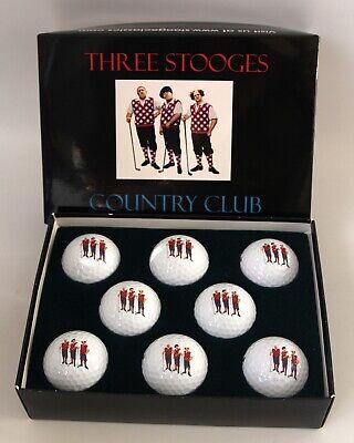 The Three Stooges Golf Balls 8 Ball Set](Three Stooges Golf)