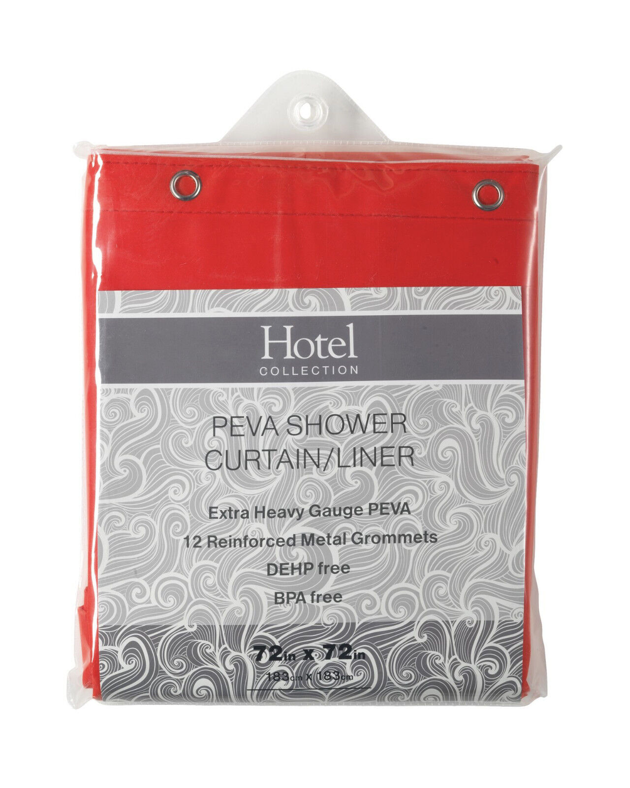 Hotel Collection Non Toxic 10 Gauge Peva Shower Curtain