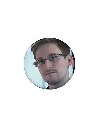 Edward Snowden Button (1) 1 1/4''