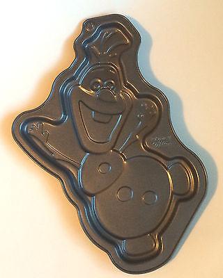 Wilton - Disney FROZEN OLAF Snowman - Giant Cookie Pan Cake Mold #2105-8500 (Frozen Cake Mold)