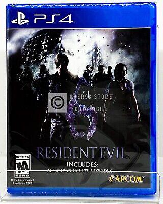 Resident Evil 6 - PS4 - Brand New | Factory Sealed