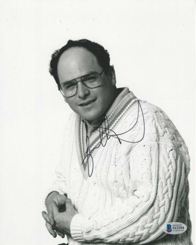 JASON ALEXANDER SIGNED 'SEINFELD' GEORGE COSTANZA 8x10 PHOTO 4 BECKETT BAS COA