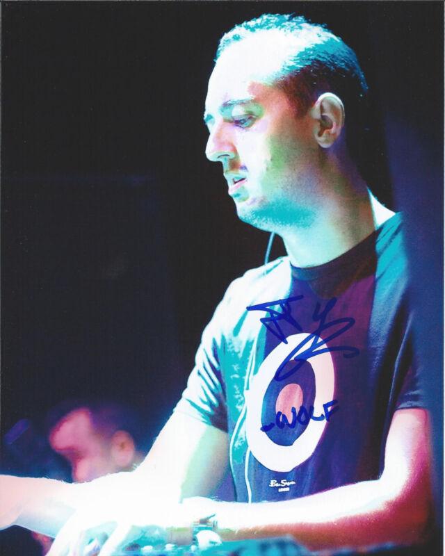 HOUSE MUSIC DJ WOLFGANG GARTNER SIGNED 8X10 PHOTO W/COA JOSEPH YOUNGMAN A