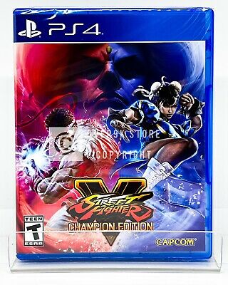 Street Fighter V Champion Edition - PS4 - Brand New | Factory Sealed