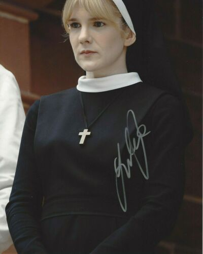 ACTRESS LILY RABE SIGNED AMERICAN HORROR STORY 8x10 PHOTO B w/COA VOLTRON VICE