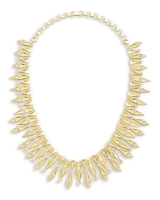 Kendra Scott Cici Metal Statement Necklace in Gold