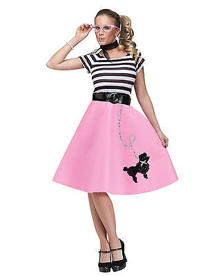 50s Soda Shop Sweetie - Adult - Costume Poodle - Womens Poodle Skirt