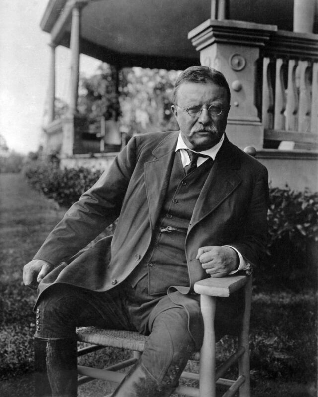 US PRESIDENT THEODORE TEDDY ROOSEVELT 8X10 GLOSSY PHOTO PICTURE IMAGE #3