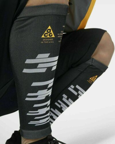 Nike Lab ACG Leg Warmers Sleeves Unisex Black orange AJ3852 010