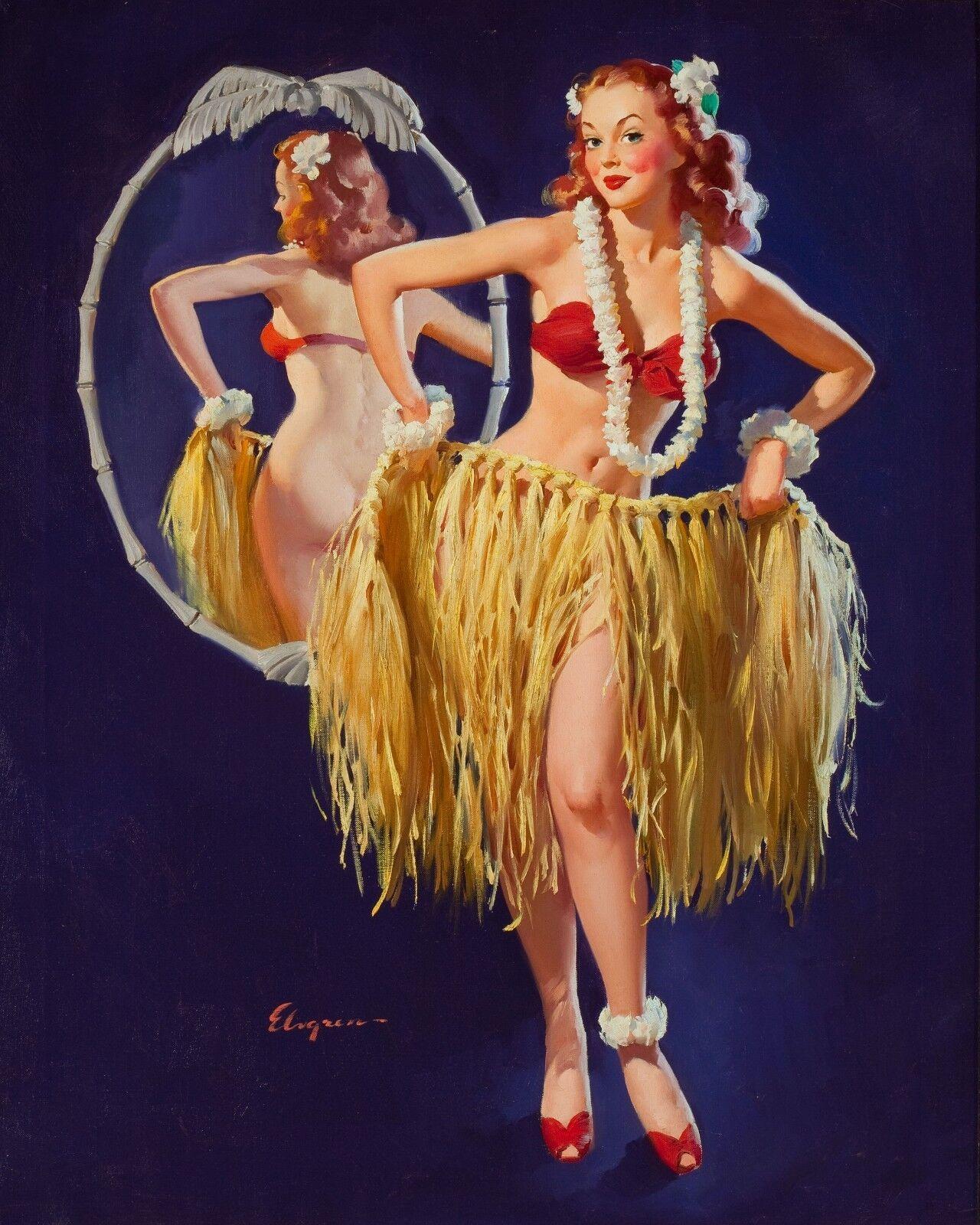 Vintage Pin Up Filles Rétro Burlesque Érotique Imprimés /& Affiches A1 A2
