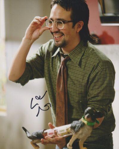 Lin Manuel Miranda Signed Modern Family 10x8 Photo AFTAL