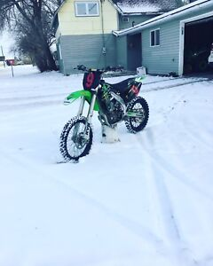Trade kx450f for a sled
