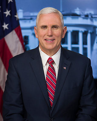 Vice President Mike Pence Official Portrait 8 X 10 Photo Photograph Picture