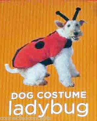 Halloween Pet Costume for your Dog - Ladybug (Size XSmall) NEW!